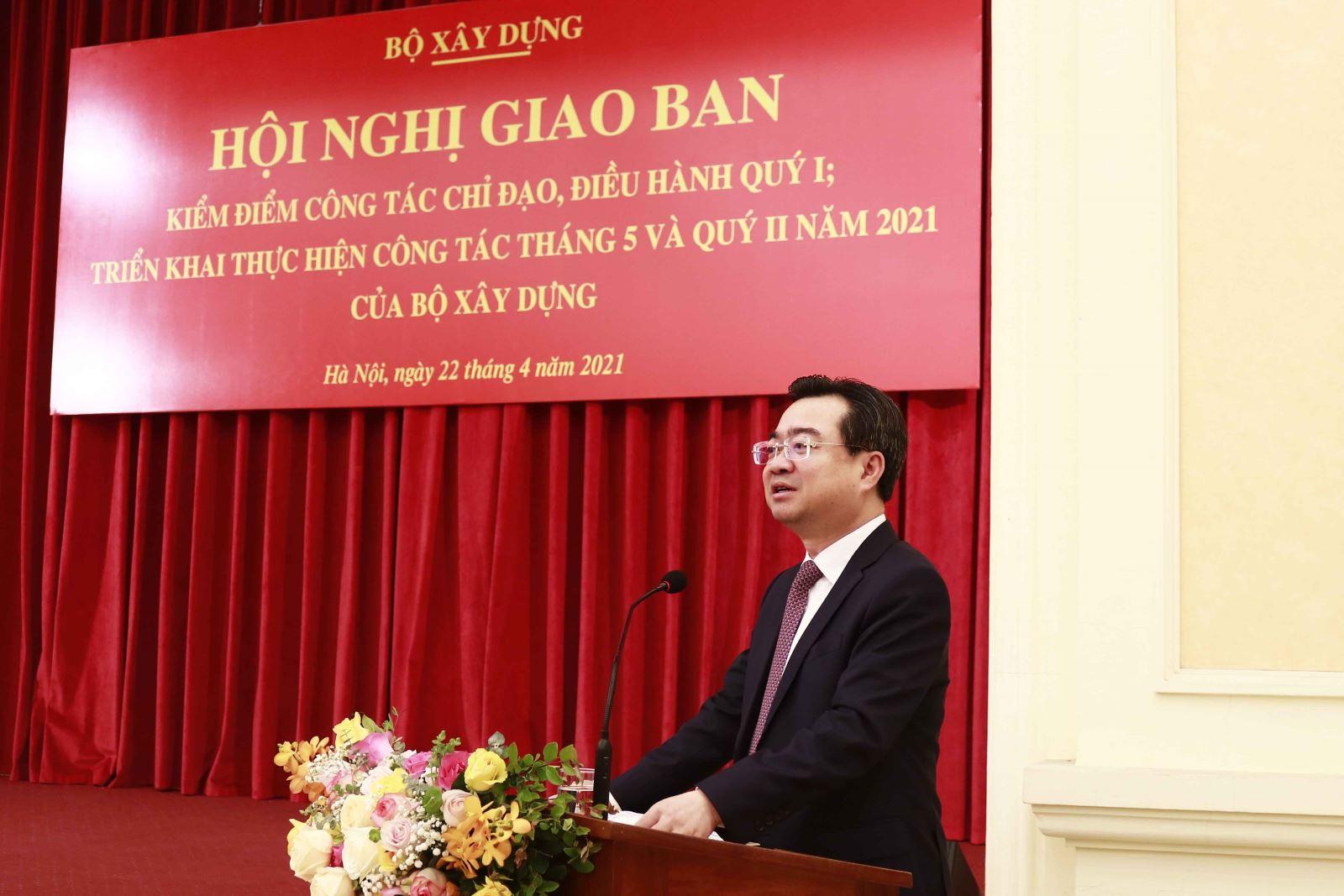 Bộ trưởng Nguyễn Thanh Nghị phát biểu tại Hội nghị