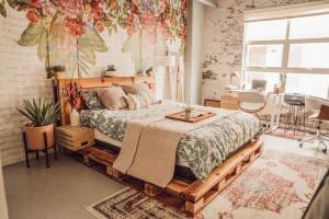 Ý tưởng giường Pallet DIY (P1)