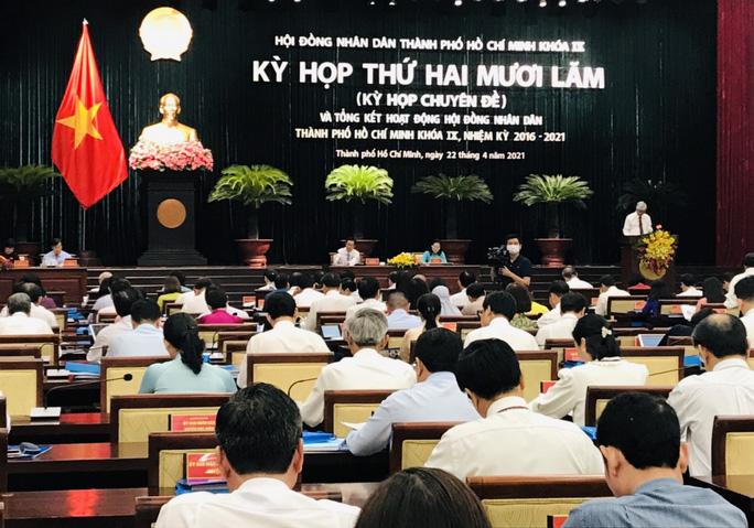 Kỳ họp HĐND TP HCM lần thứ 25 khai mạc sáng 22-4