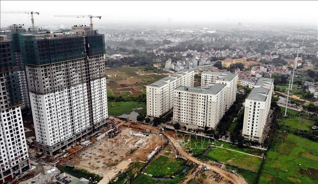 Dự án nhà ở xã hội EcoHome do Công ty CP Đầu tư và Thương mại Thủ đô (Capital House) làm chủ đầu tư. Ảnh minh họa: Danh Lam/TTXVN