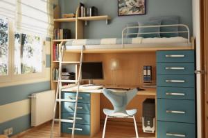 Ý tưởng trang trí phòng ngủ dành cho tuổi teen