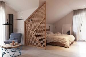 Ứng dụng của lam gỗ trong thiết kế nội thất