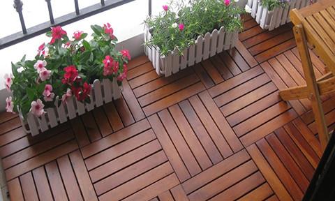 Gợi ý những loại sàn gỗ ban công được nhiều người sử dụng