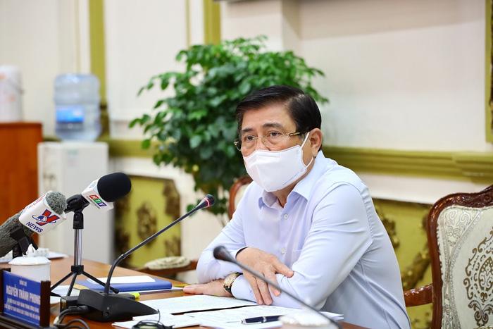 Chủ tịch UBND TPHCM Nguyễn Thành Phong đề nghị thành lập tổ công tác để giải quyết, tháo gỡ những khó khăn, vướng mắc của các dự án bất động sản trên địa bàn
