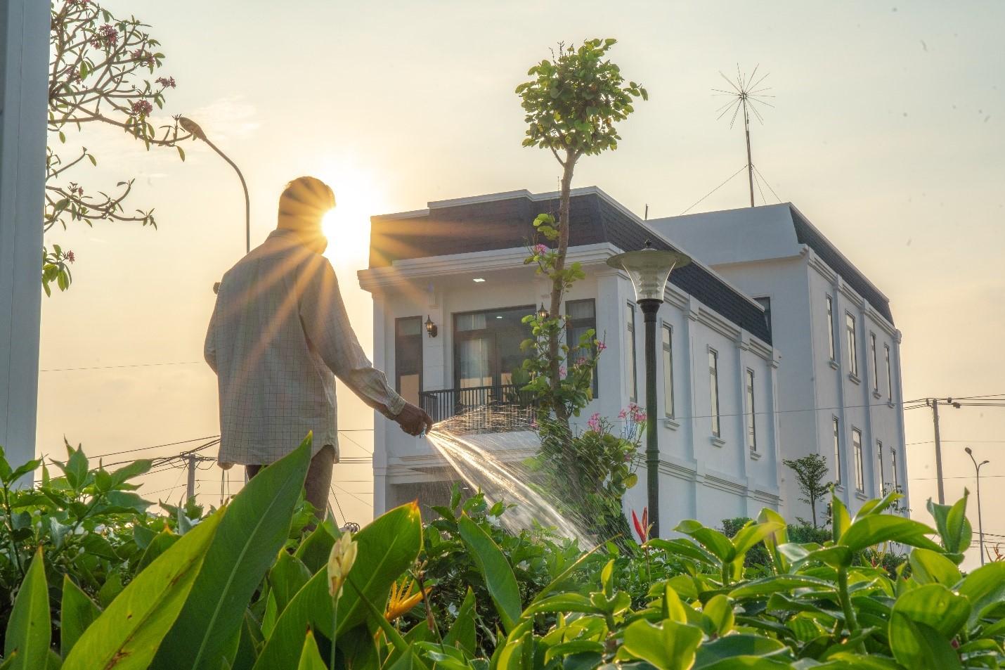 Một không gian sống xanh đang trở thành xu hướng chọn nhà của người mua sau khi Covid trở lại