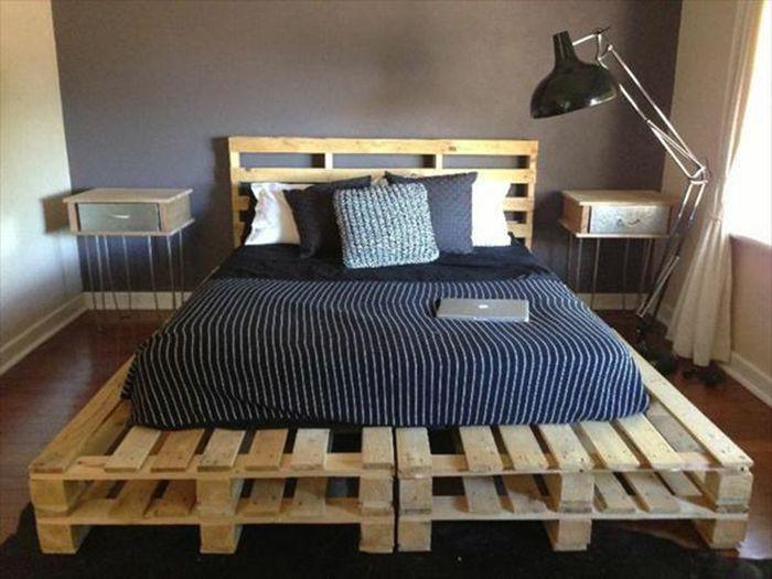 Ngoài ra, trước khi được tái chế để làm giường, bàn ghế..., gỗ pallet có thể đã nhiễm chất độc hại do được sử dụng vào nhiều mục đích khác nhau. Thay vì giường pallet hãy mua một chiếc giường gỗ thông thường với giá cả hợp lý trên thị trường.