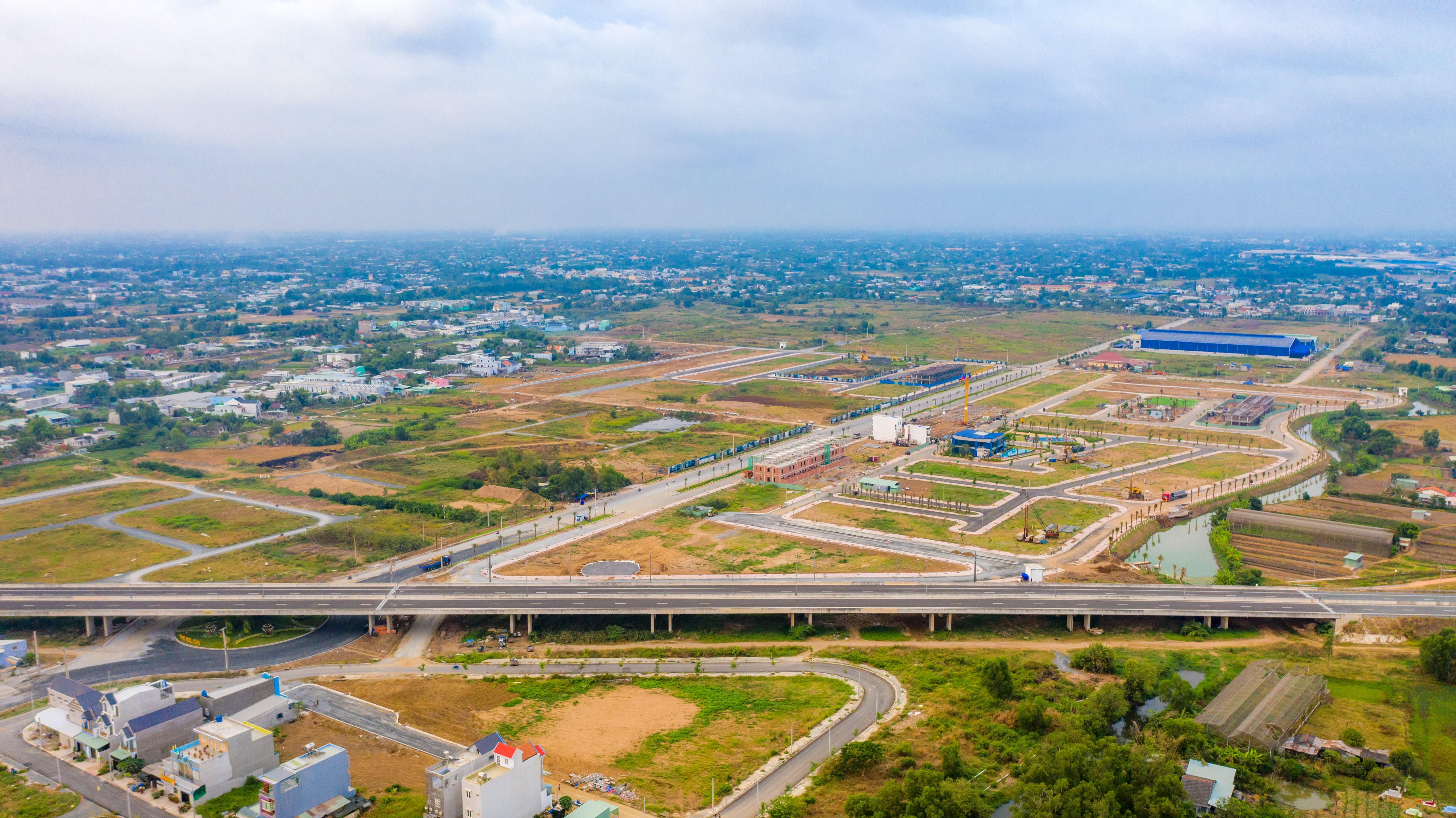 Long An trở thành điểm sáng trong giới địa ốc trong năm 2021