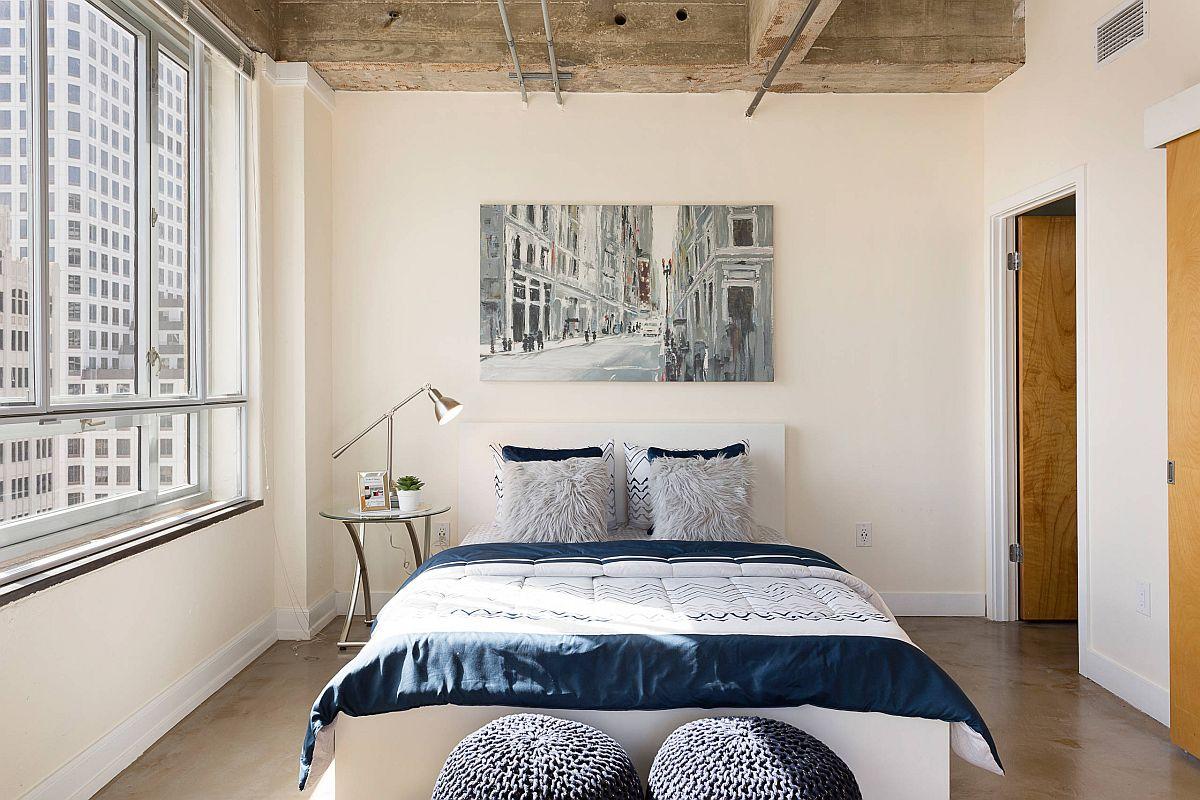 Phòng ngủ hướng tới sự hiện đại hơn là hướng tới thiết kế công nghiệ