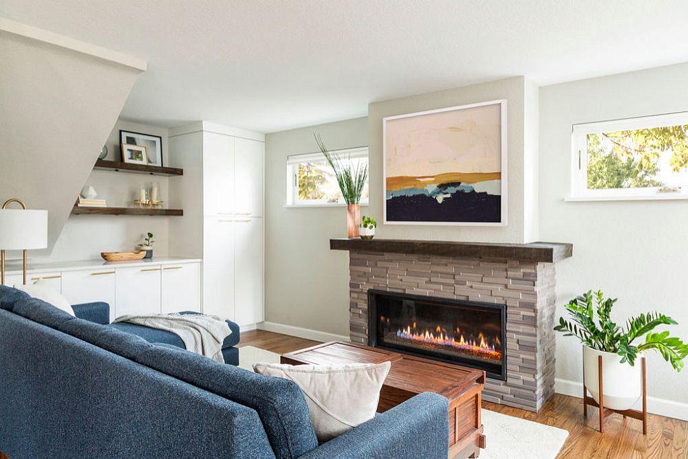 Màu be trong phòng khách là một sự lựa chọn vừa hiện đại vừa linh hoạt