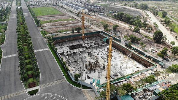 Thi công không phép phần móng, hầm nhà cao tầng trên diện tích rộng hơn 6.000m2 tại dự án Khu đô thị mới An Lạc Green Symphony, Công ty Cổ phần Tập đoàn Đầu tư An Lạc bị phạt 40 triệu đồng