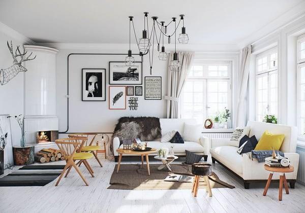 Phong cách nội thất kim cổ kết hợp những món đồ nội thất hiện đại với những xu hướng nội thất ở các thập niên trước vừa mang đến sự ấm cúng, vừa có nét cá tính.
