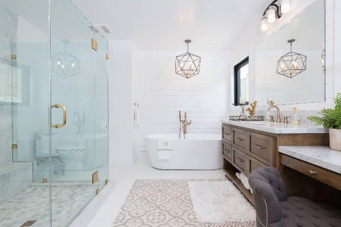 Phòng tắm theo phong cách spa sẽ được lựa chọn nhiều hơn khi mọi người tìm cách tạo ra không gian mới để tận hưởng thời gian ở nhà.