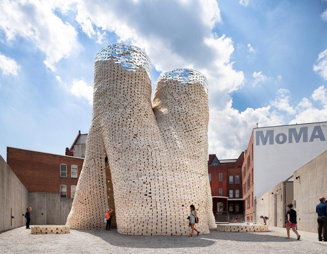 Công trình tháp hữu cơ khổng lồ được dựng nên từ gạch nấm (New York, Mỹ)