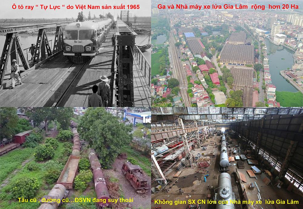 Việt Nam chế tạo ô tô ray từ năm 1965; Cơ sở hạ tầng ĐSVN giá trị lớn nhưng sử dụng chưa hiệu quả