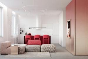 Sử dụng màu đỏ trong trang trí nhà có khó không?