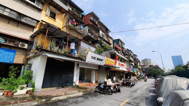 Hà Nội sẽ cải tạo, xây dựng lại 3 khu chung cư cũ có nhà nguy hiểm cấp D (Ảnh: Chung cư cũ Thành Công)