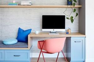 Làm mới không gian làm việc tại nhà với tủ bếp