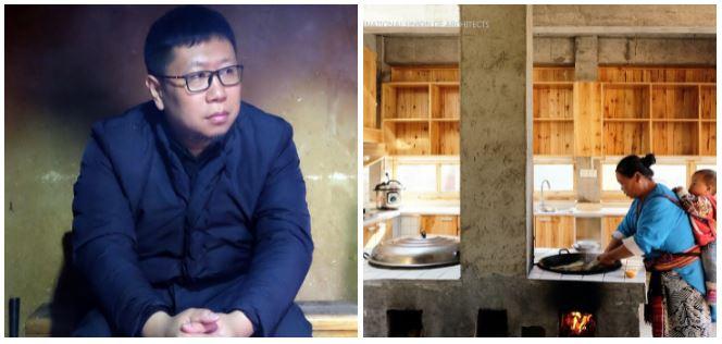 Jiansong Lu (trái), và Bếp của Gia đình 1 (Kitchen of Family 1), một phần của các dự án xóa đói giảm nghèo, tỉnh Hồ Nam, Trung Quốc (2013-2021)