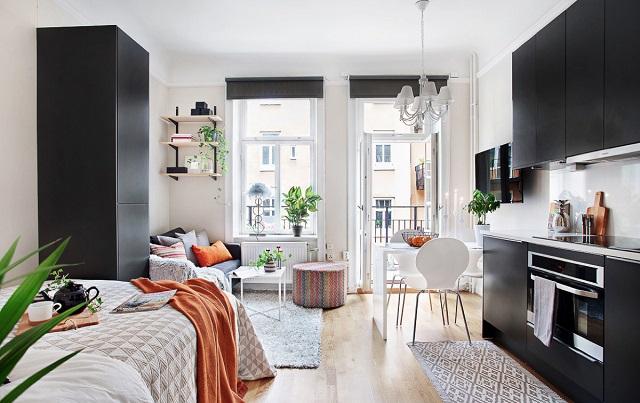 Xây dựng căn hộ diện tích tối thiểu 25m2 phải phù hợp về quy hoạch, kiến trúc. Ảnh: Duy Anh