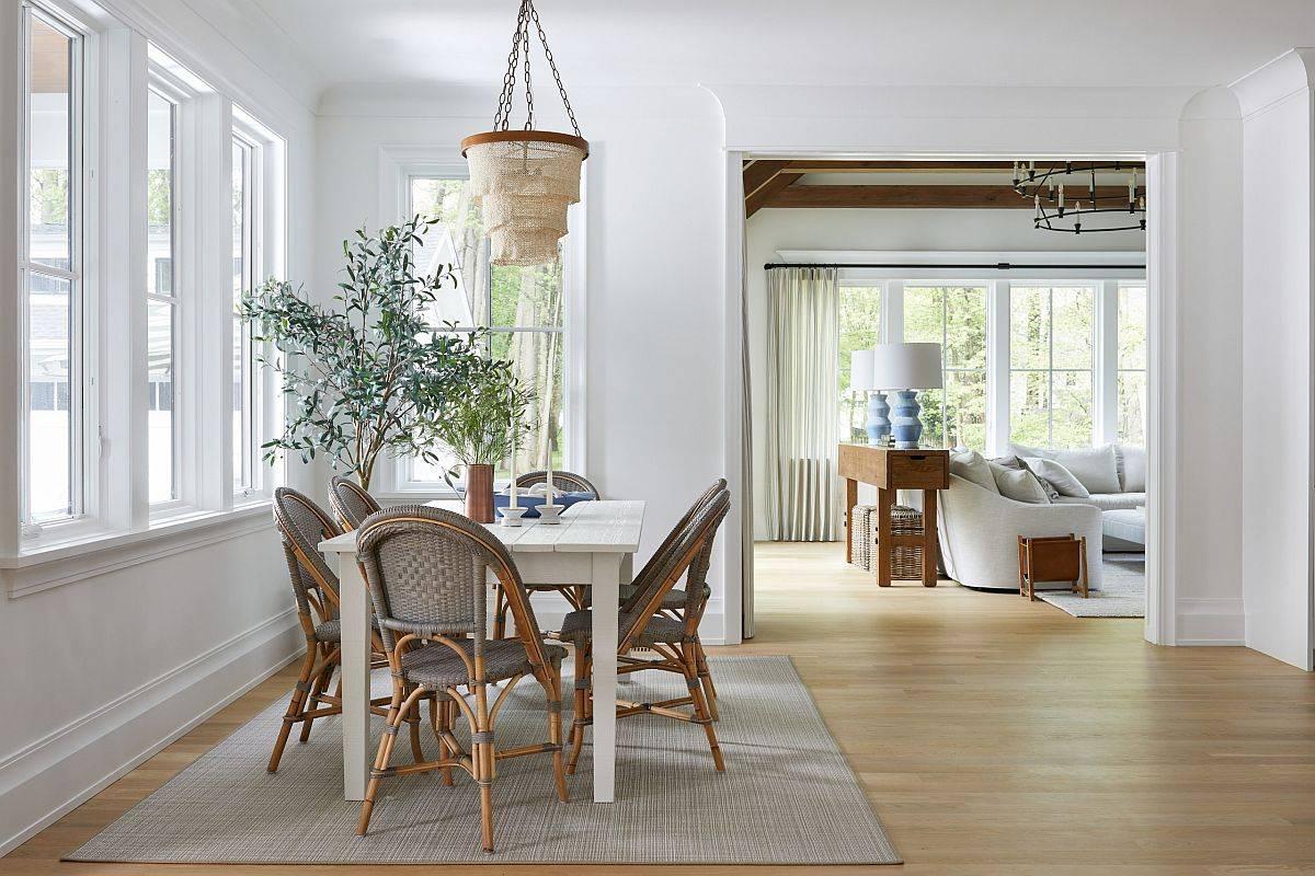 Thêm một chút cây xanh cho không gian ăn uống trong nhà trong mùa hè và mùa thu này