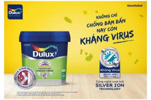 Dulux ra mắt giải pháp sơn kháng virus và vi khuẩn bảo vệ sức khỏe gia đình
