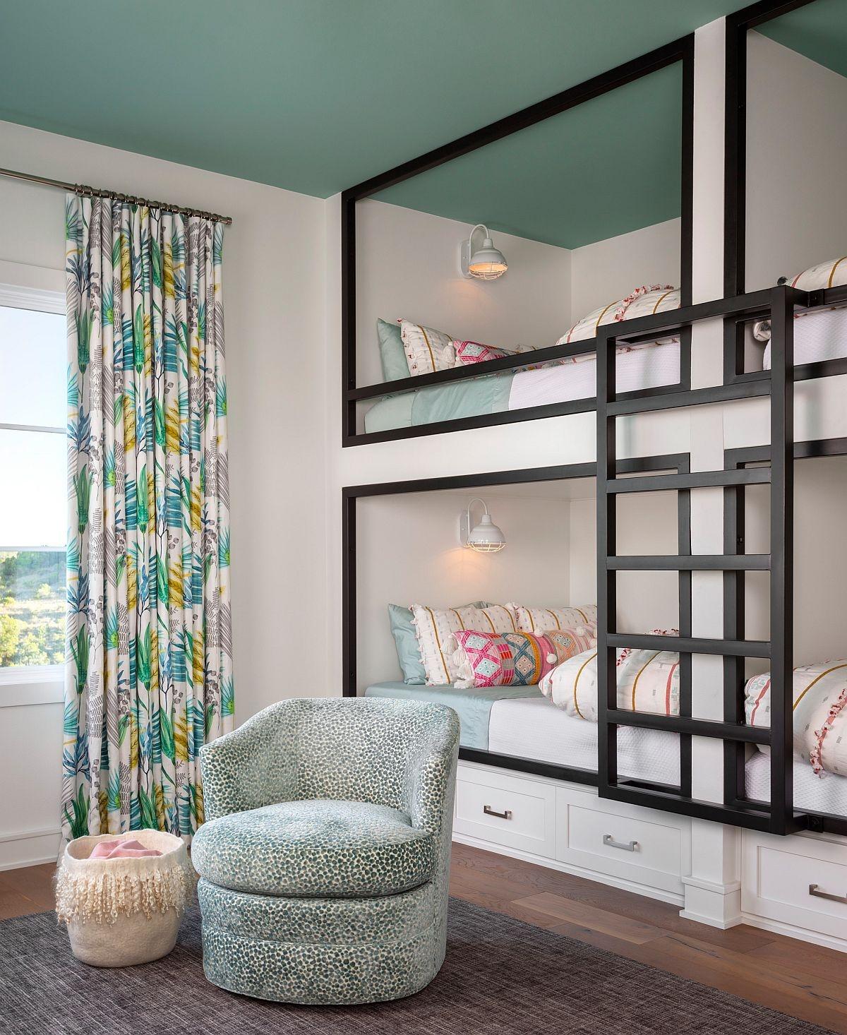 Tạo một chiếc giường 2 tầng với chiếc khung khá ấn tượng