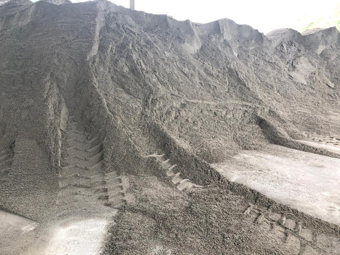 Hình ảnh cát nhân tạo sử dụng ở Tổng công ty Sơn Trường (Hải Phòng)