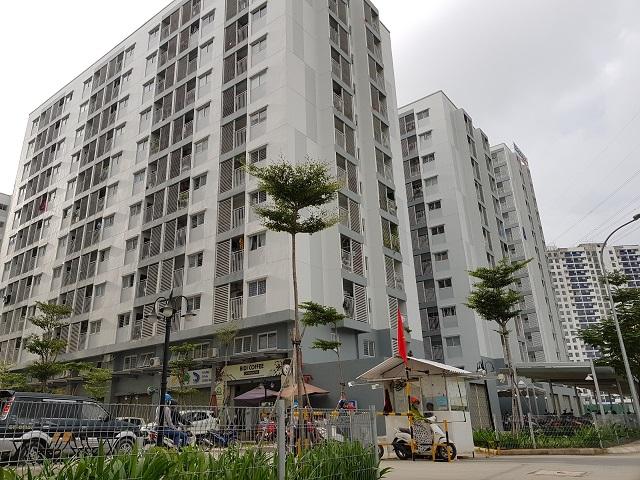 Thị trường bất động sản thiếu căn hộ bình dân, nhà giá rẻ. Ảnh: Lê Xuân