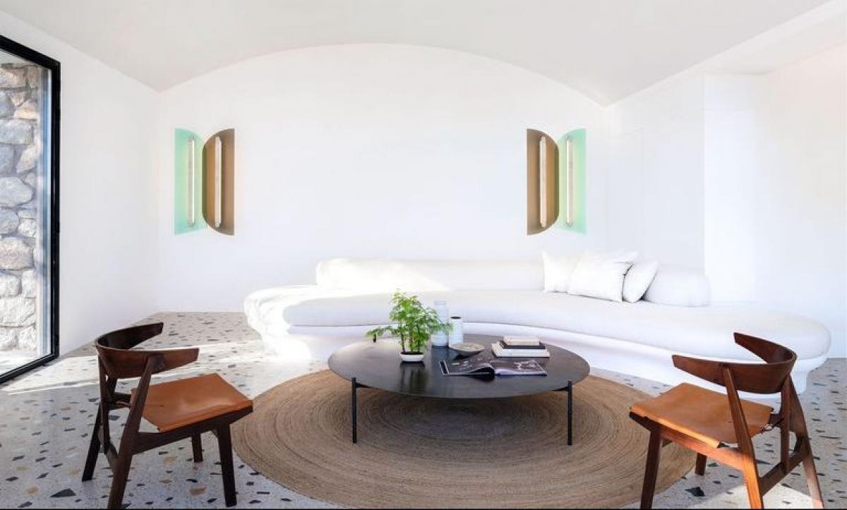Trắng sáng: Đây là màu sắc được các nhà thiết kế yêu thích để làm nổi bật lên đồ nội thất.