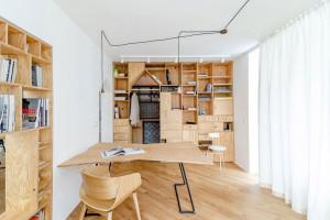 Ứng dụng của gỗ dán trong thiết kế nội thất