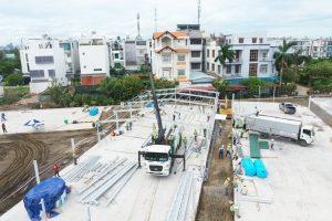 Mỗi bệnh viện dã chiến xây mới có tiến độ nhanh nhất từ 15-20 ngày