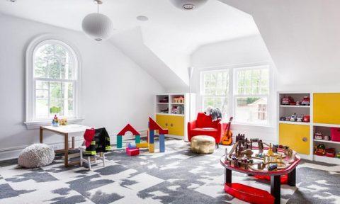 Những mẫu thiết kế khu vui chơi tại nhà mùa dịch dành cho bé