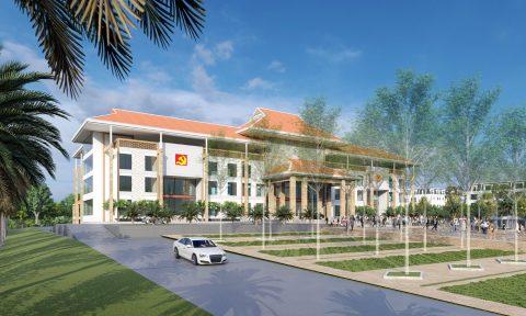 VIAr đạt giải Nhất cuộc thi tuyển phương án thiết kế kiến trúc công trình xây dựng Trung tâm hành chính huyện Lộc Ninh