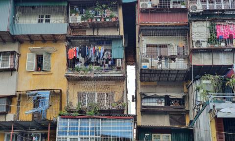 UBND TP Hà Nội ban hành kế hoạch cải tạo, xây dựng lại chung cư cũ trên địa bàn thành phố