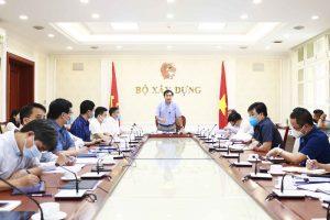 Tổ công tác đặc biệt của Bộ Xây dựng họp trực tuyến với 19 tỉnh, thành phố phía Nam về phòng chống dịch bệnh Covid-19