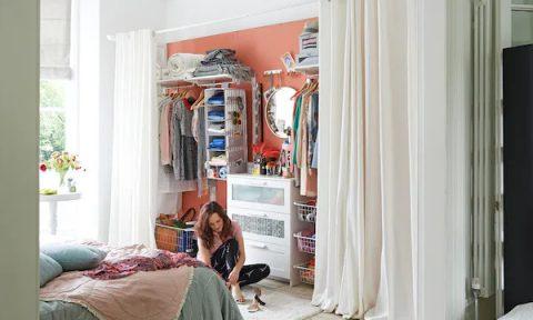 Tủ quần áo cho nhà nhỏ