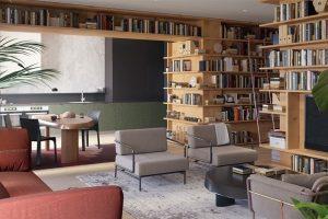 Những ý tưởng thiết kế thư viện gia đình đầy sáng tạo