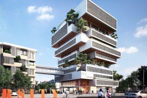 Alpha Building thuộc tổ hợp Trường Đại học FPT Đà Nẵng của HUNI ARCHITECTES