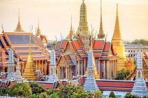 Những cung điện nổi tiếng ở Thái Lan