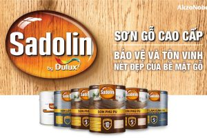 Sơn gỗ Sadolin: Giải pháp bảo vệ tiên tiến cho sản phẩm gỗ Việt