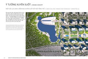 Giải A cuộc thi Ý tưởng quy hoạch, kiến trúc tổng thể Khu trụ sở các bộ, ngành Trung ương tại khu vực Tây Hồ Tây
