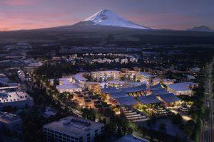 Hiện thực hóa giấc mơ thành phố thông minh chân núi Phú Sĩ