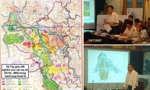 Tài nguyên nước quốc gia và sự khô hạn các bản quy hoạch, dữ liệu đầu vào