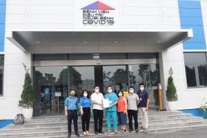 Viện Kiến trúc Quốc gia thăm và ủng hộ Bệnh viện điều trị người bệnh Covid-19
