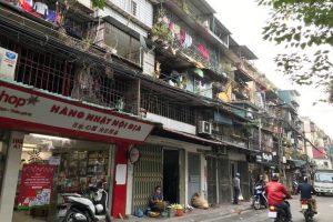 Khu chung cư cũ nào ở Hà Nội sẽ được ưu tiên cải tạo, xây dựng lại?