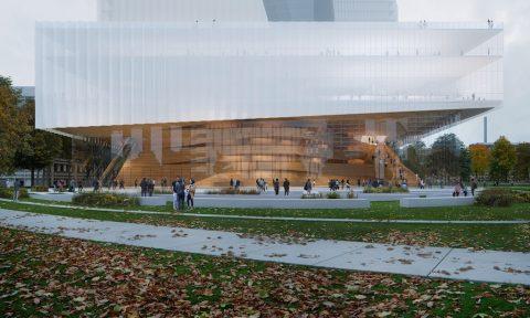 Thiết kế mới cho Nhà hát Opera Dusseldof