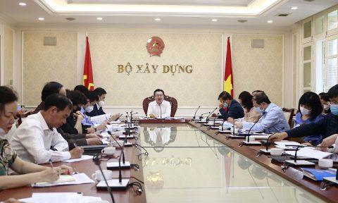 Bộ trưởng Nguyễn Thanh Nghị chủ trì cuộc họp về Nghị định Sửa đổi, bổ sung một số điều của các Nghị định thuộc lĩnh vực quản lý nhà nước của Bộ Xây dựng