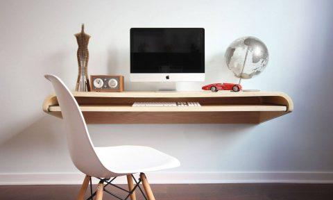 Bàn treo hoàn hảo cho không gian làm việc tại nhà