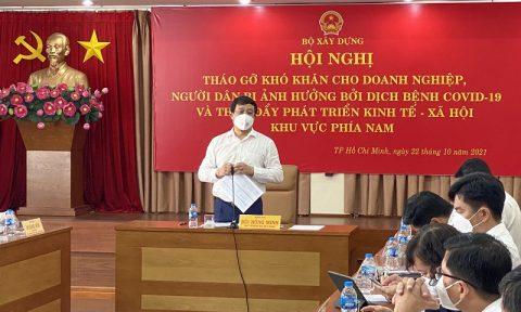 Hội nghị Tháo gỡ khó khăn cho doanh nghiệp, người dân đồng thời thúc đẩy phát triển kinh tế, xã hội khu vực phía Nam