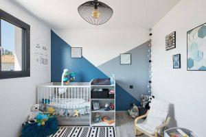 Cảm hứng thiết kế sang trọng cho phòng bé sơ sinh